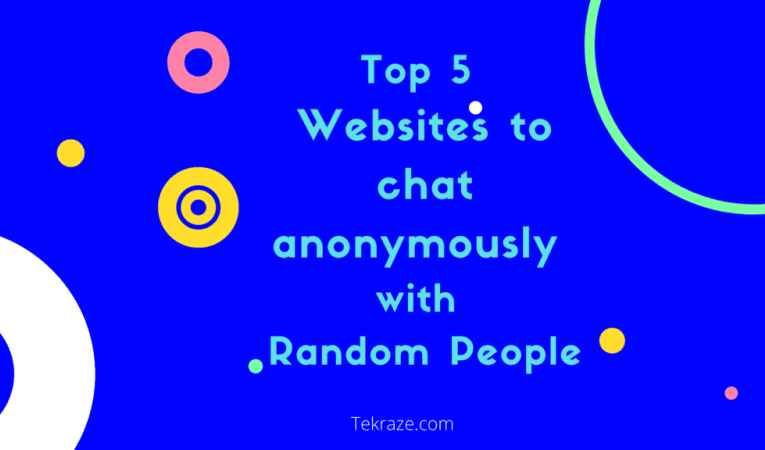 21 Top Websites to chat anonymously with Random People in 2021