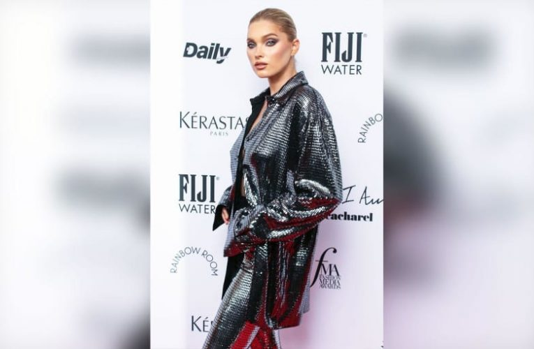 Model Elsa Hosk Reported For Sharing 'Child Pornography,' New Mom Defends Posting Nude Photo With Baby Girl