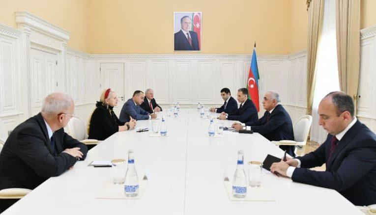 Azerbaijan, IAF mull high technology, space industry