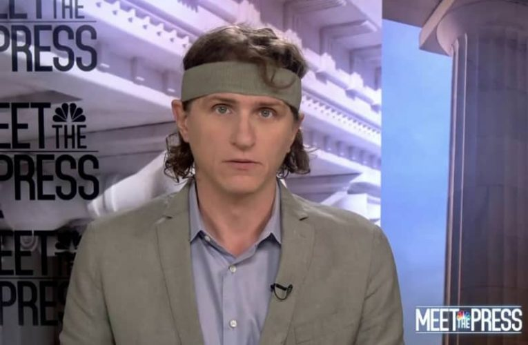 """All Hail the WSJ Reporter Who Wore a Headband on """"Meet the Press"""""""