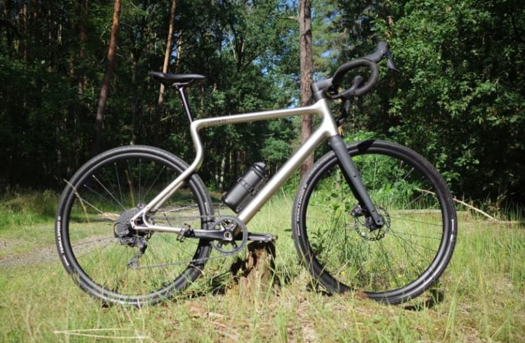 Smooth out the rough trail on a 3D-printed gravel bike