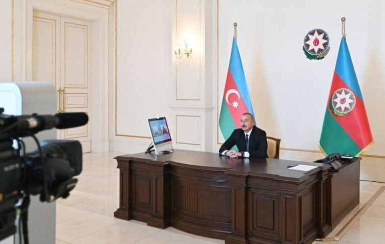 Chronicles of Victory: President Ilham Aliyev interviewed by Euronews TV on October 7, 2020