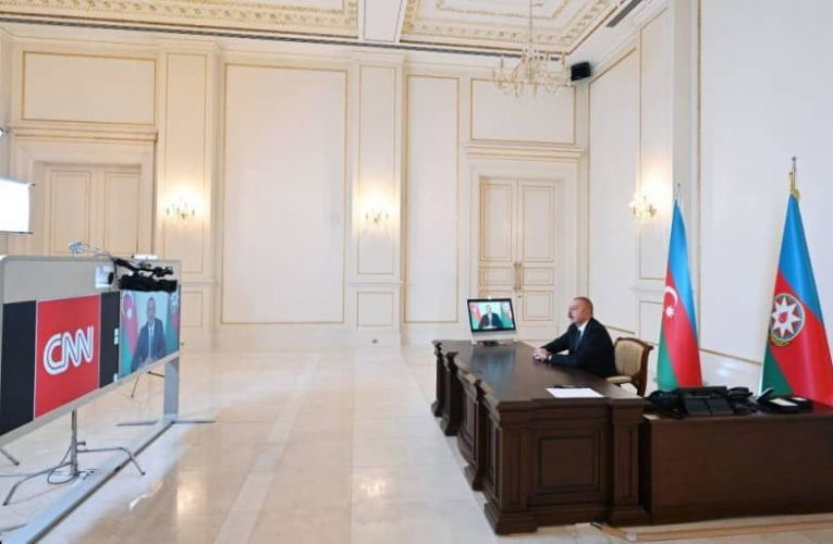 """Chronicles of Victory: CNN International TV channel's """"The Connect """" program broadcasts interview with President Ilham Aliyev on October 9, 2020"""