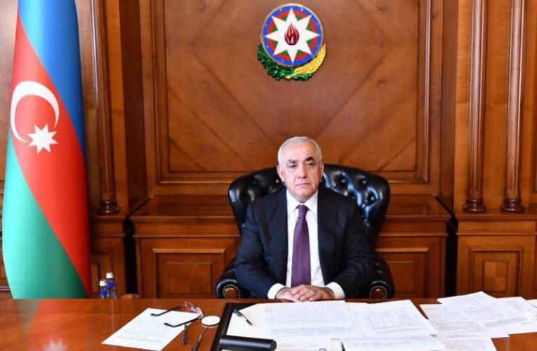 Azerbaijani PM extends condolences to Georgian counterpart on building collapse victims