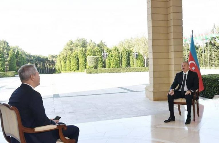 Chronicles of Victory: President Ilham Aliyev interviewed by Russian RBC TV channel on October 10, 2020