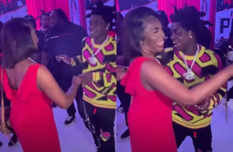 Kodak Black Gropes His Mother and Tries to Kiss Her on the Mouth in Uncomfortable Video