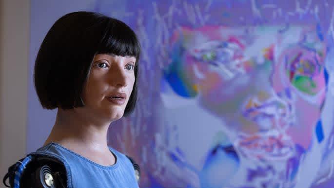 Egypt detains 's first robot artist Ai-Da